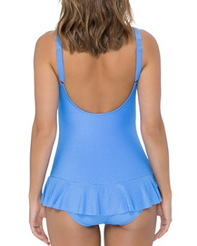 Profile by Gottex - Ribbons D-Cup Swim Dress