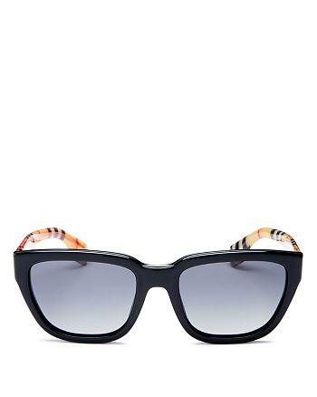 Burberry - Women's Polarized Square Sunglasses, 54mm