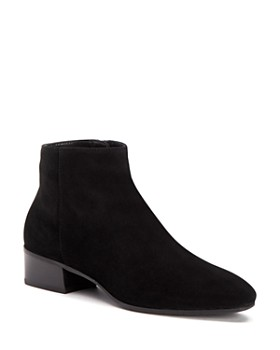 b8eb3cef876a Aquatalia - Women s Fuoco Pointed Toe Weatherproof Suede Booties ...