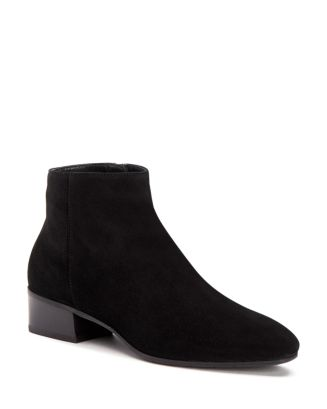 Women's Fuoco Pointed Toe Weatherproof Suede Booties by Aquatalia