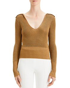 Theory - Wide Collar Sweater