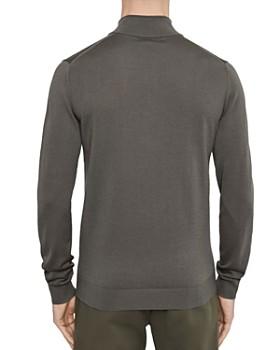 REISS - Blackhall Merino Wool Half-Zip Sweater