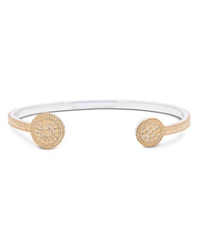 Anna Beck - Open Circle Cuff Bracelet in 18K Gold-Plated Sterling Silver