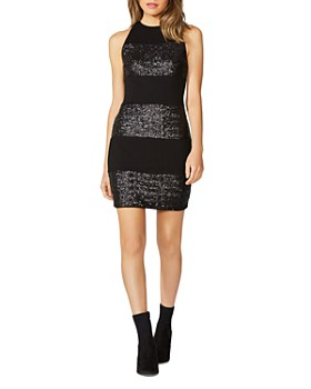 Bailey 44 - Sequined Paneled Dress
