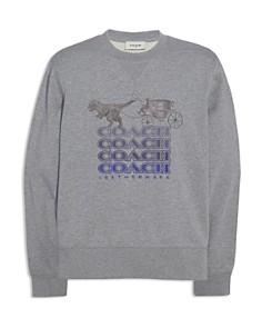 COACH - Shadow-Logo Rexy Graphic Sweatshirt