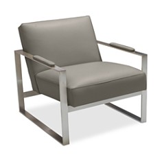 Bloomingdale's Artisan Collection - Lewis Leather Chair