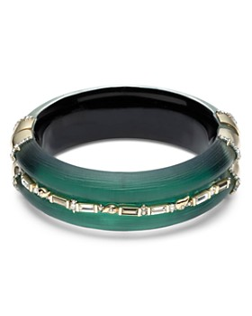 Alexis Bittar - Crystal Baguette Hinge Bracelet