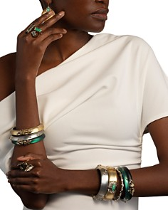 Alexis Bittar - Crystal Bangle Bracelet