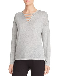 Marc New York - Cutout Front Tee
