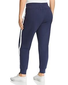 Marc New York Plus - Track-Stripe Sweatpants