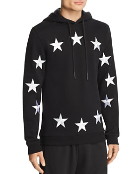 44df729bdb0 Etudes - Klein Embroidered European Flag Hooded Sweatshirt ...
