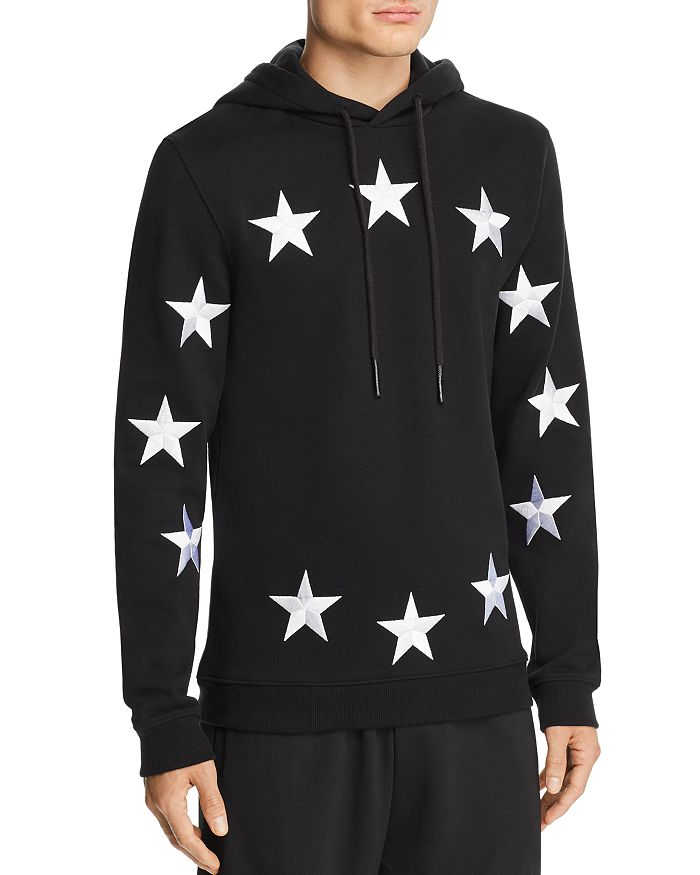 Etudes - Klein Embroidered European Flag Hooded Sweatshirt