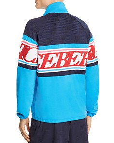 Iceberg - Color-Block Logo-Stripe Track Jacket