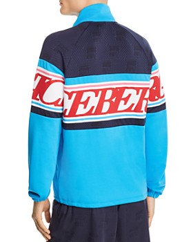 Iceberg - Color-Block Logo-Stripe Track Jacket