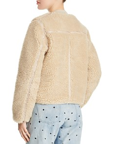 Scotch & Soda - Cropped Teddy Jacket