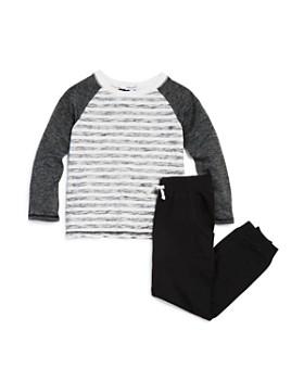 Splendid - Boys' Striped Raglan Tee & Jogger Pants Set - Little Kid