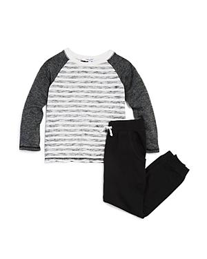Splendid Boys' Striped Raglan Tee & Jogger Pants Set - Little Kid