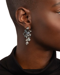 Alexis Bittar - Crystal Ombre Paisley Earrings