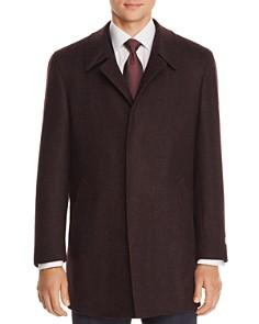 Canali - Mélange Wool Twill Car Coat