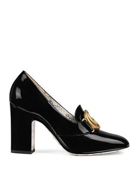 Gucci - Women's Leather Pumps with Double G