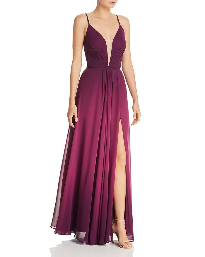 a11ccdb3ec9a AQUA Ombré Chiffon Gown - 100% Exclusive   Bloomingdale's