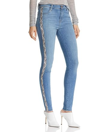 J Brand - Maria High-Rise Skinny Jeans in Alliance