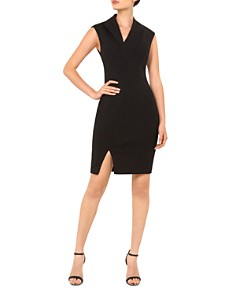Ted Baker - Geodese Faux-Wrap Dress