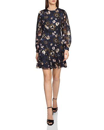 971340e93c9 REISS - Allie Floral Burnout Dress