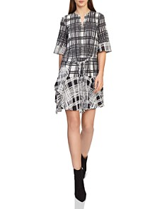 REISS - Lars Checked Dress
