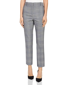 REISS - Joss Slim-Fit Checked Pants
