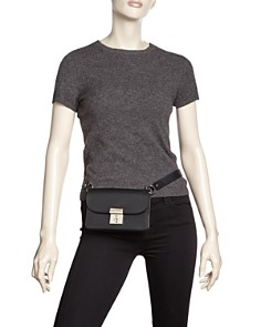 Behno - Amanda Leather Convertible Belt Bag