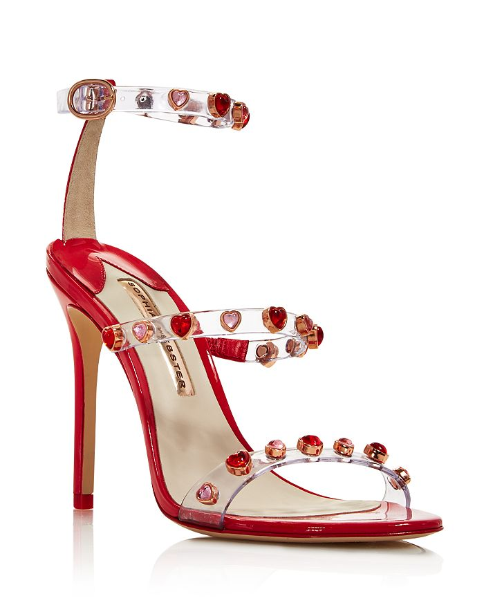 Sophia Webster - Women's Rosalind Heart Gem Stiletto Sandals - 100% Exclusive