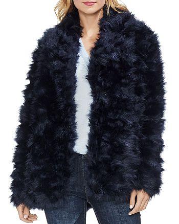 VINCE CAMUTO - Shaggy Faux-Fur Coat