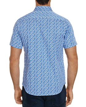 Robert Graham - Ashmead Short-Sleeve Paisley-Print Classic Fit Shirt