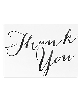Masterpiece - Thank You Cards, Box of 10