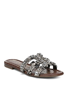 Sam Edelman - Women's Bay 8 Embellished Slide Sandals