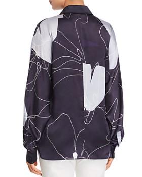 Max Mara - Renna Botanical-Print Silk Blouse
