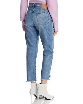 Levi's - 501 Crop Straight Jeans in Call Me Crazy