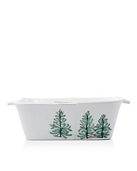 VIETRI - Lastra Holiday Loaf Pan