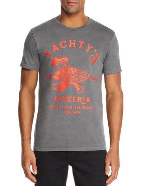 BRAVADO Lil Yachty Pizzeria Graphic Tee in Black