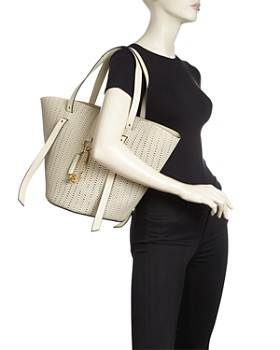 ZAC Zac Posen - Belay Large Perforated Leather Tote