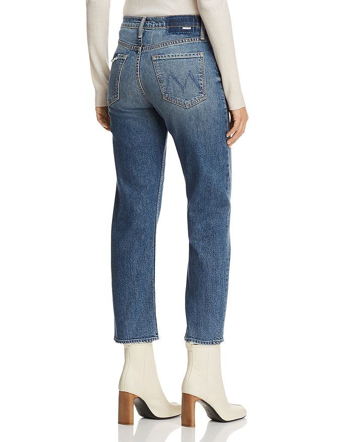 f3bbd35b9fdc6 MOTHER The Tomcat High-Rise Straight-Leg Jeans in We All Scream ...