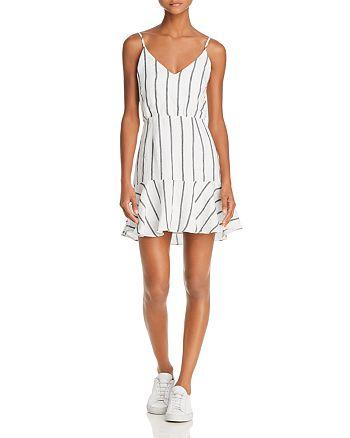 Suboo - Eden Striped Mini Dress