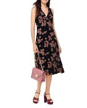 MICHAEL Michael Kors - Rose Velvet Devoré Dress