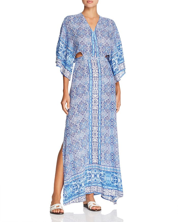 Surf Gypsy - Paisley Maxi Dress Swim Cover-Up