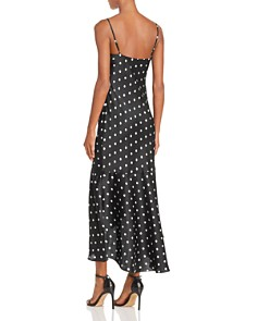 CAMI NYC - Sandra Polka Dot Silk Slip Dress