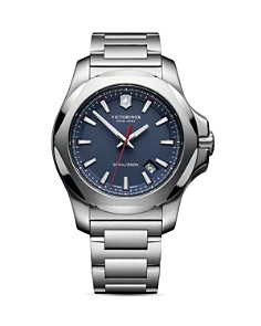 Victorinox Swiss Army - I.N.O.X. Blue Dial Watch, 43mm