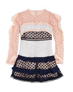 Bardot Junior - Girls' Arabella Color-Block Lace Dress - Big Kid