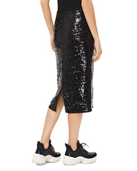 MICHAEL Michael Kors - Sequined Jersey Pencil Skirt