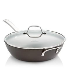 "Calphalon - Classic Nonstick 12"" Jumbo Fryer Pan with Lid"